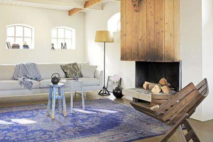 Nya Interieurontwerp Rozenkelim vintage gekleurd benewed.com
