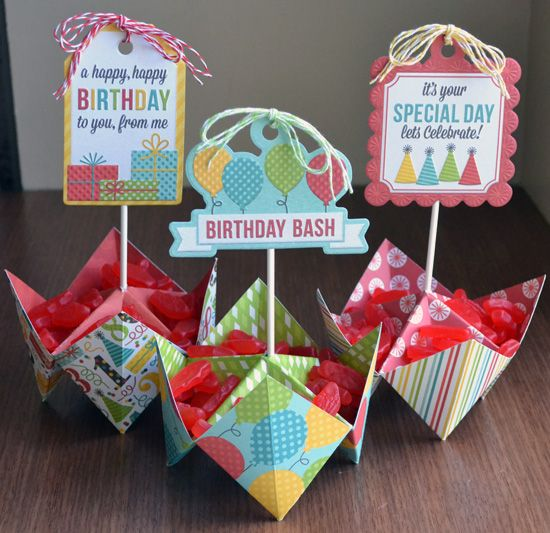 #papercraft #party #decor: Fun Kids Party Favor via @We R Memory Keepers
