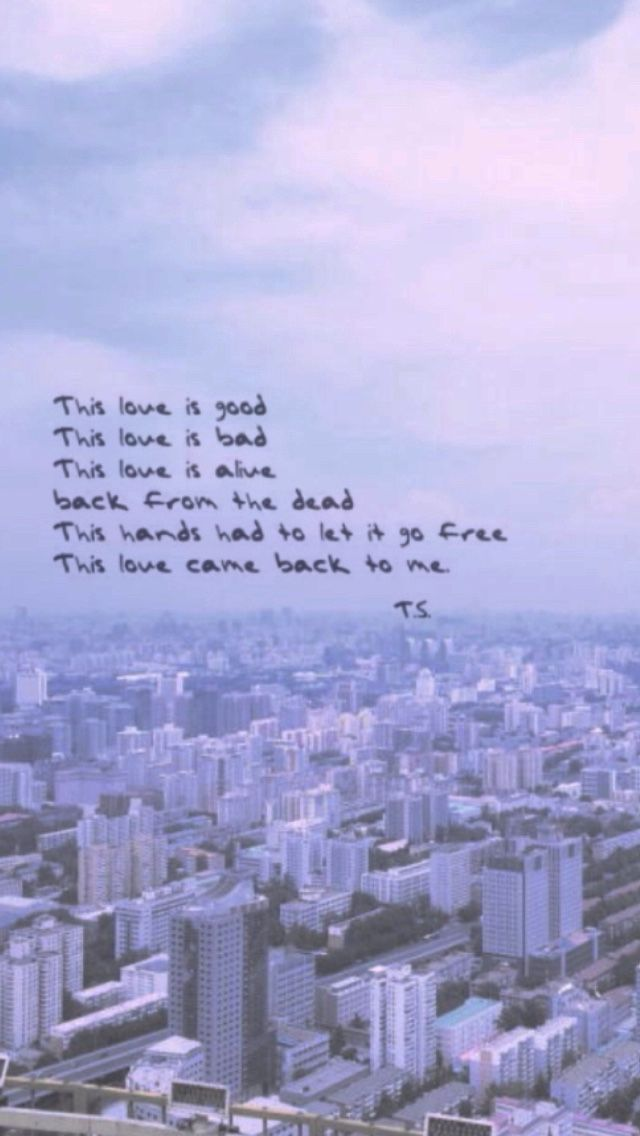 this love- taylor swift