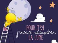 Pour toi j'irais décrocher la lune - http://www.dromadaire.com/carte-virtuelle/saint-valentin_0