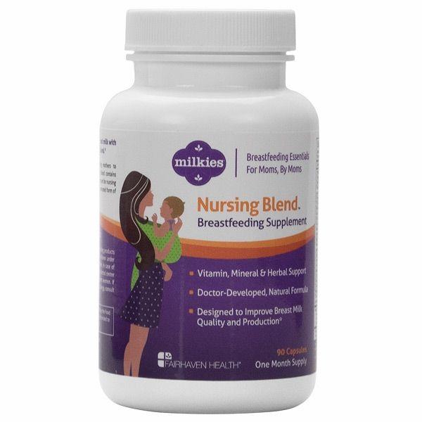 Milkies Nursing Blend - Breastfeeding Supplement