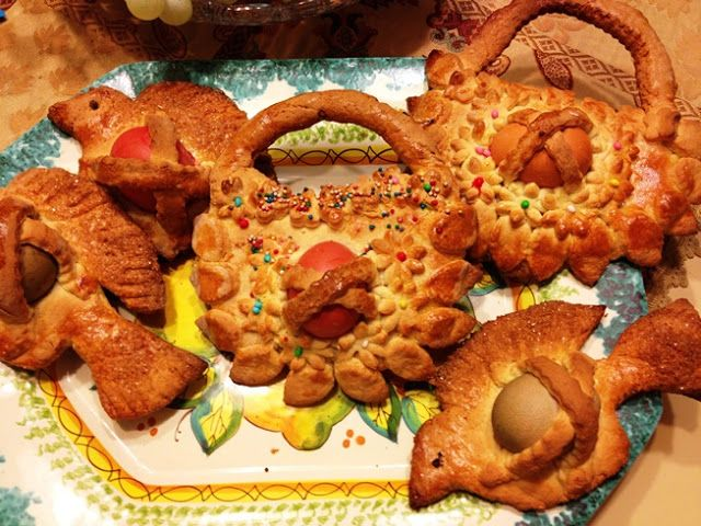 Cuddura siciliana - biscotti per Pasqua