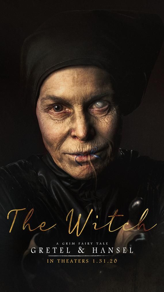 Poster Gretel Hansel The Witch In 2020 Hansel And Gretel
