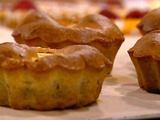 Vanilj- och citronsockerkaka med äpple (kock Magnus Johansson)