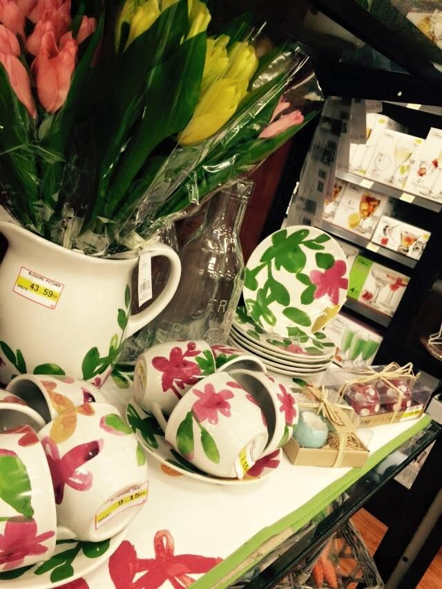 Come and check out our spring collections! #spring #flowers #designer