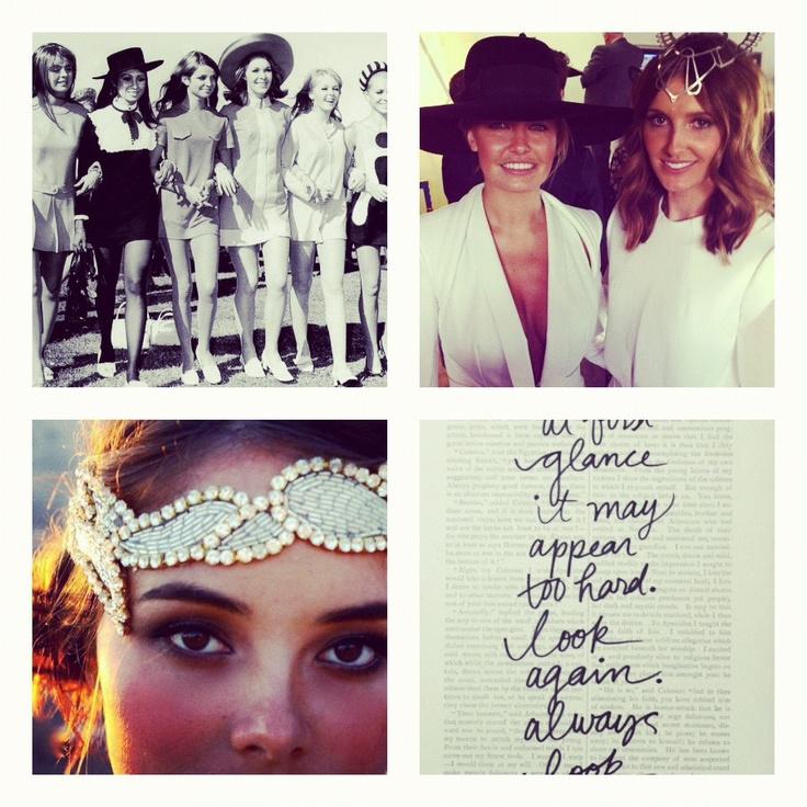 My Melbourne cup inspiration ...