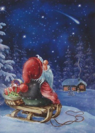 even Santa makes wishes on stars