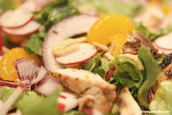 Asian Chicken salad recipe v@beautyandbedlam