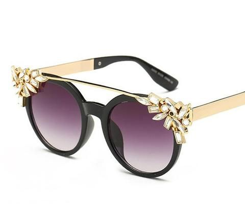 Women's Fashion Summer Sunglasses With Crystal Decoration Fashion Women's Cheap  Awesome women Design Eyewear outfit Shades Accessories summer Outlets website Beautiful unique polarized inspiration products shops store link Gift ideas for girls For Sale Online buy Purchase shopping Trend Style Outfit Casual Lunettes de soleil Achat en ligne Femme Pas Cher Free Été Mode Tendance Free Shipping UK USA France Australia Canada