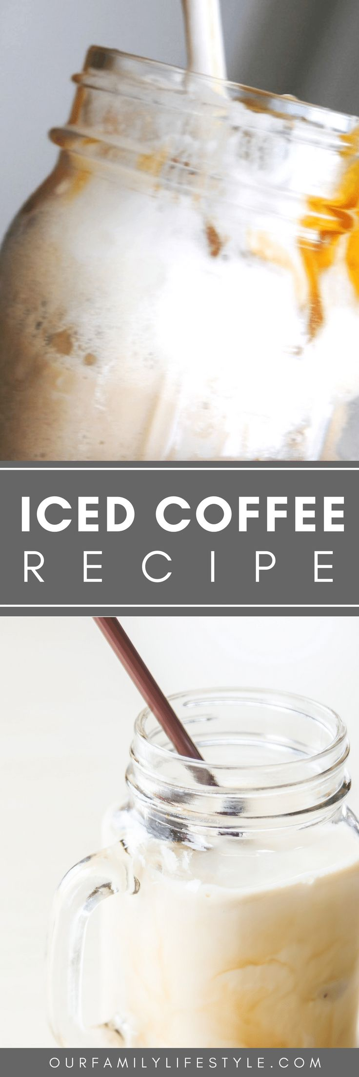 Just because it gets warm doesn't mean that we can't still enjoy our coffee! That simply means we move onto to simple homemade iced coffee recipes and fun in the sun.