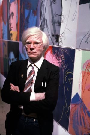The Prince of Pop, Andy Warhol: American pop artist and film maker and mentor of The Velvet Underground, Andy Warhol.
