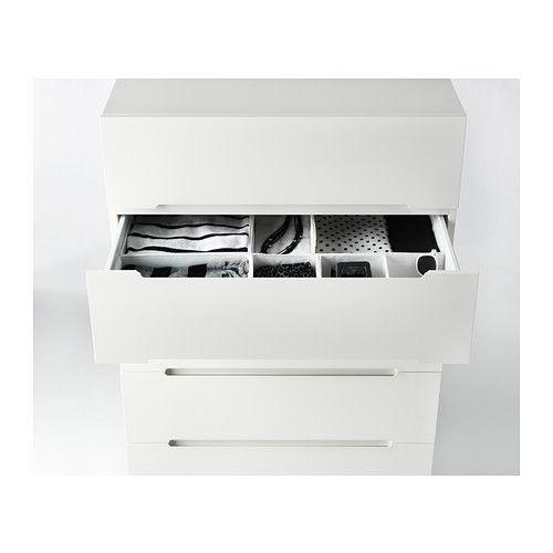 SVEIO Chest with 5 drawers  - IKEA-drawer organizer