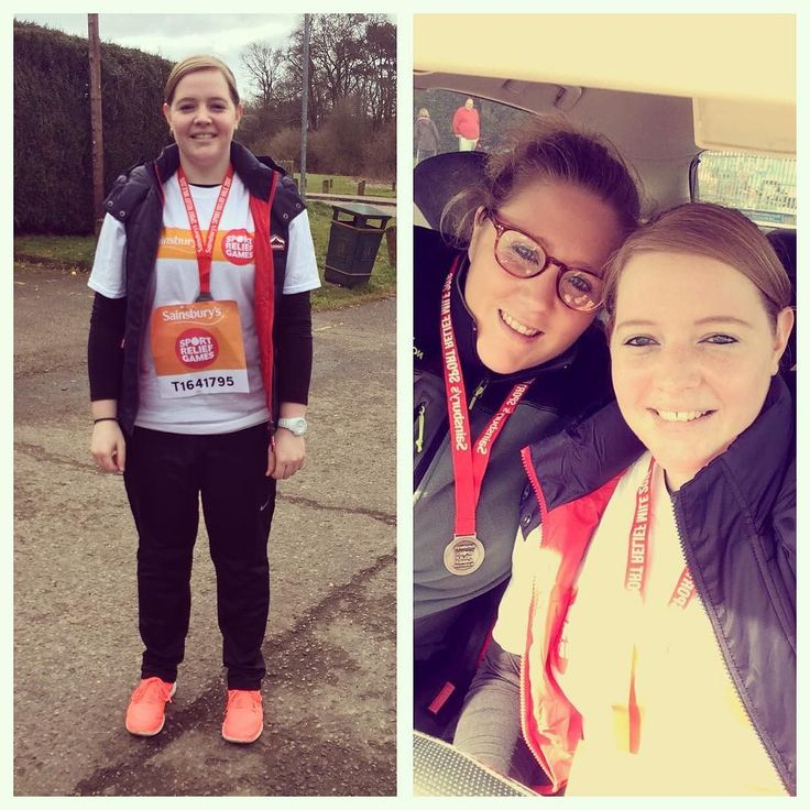 So today we ran the Sport Relief mile #sportrelief #sportrelief2016 #sportreliefmile #running by sw_claire_h