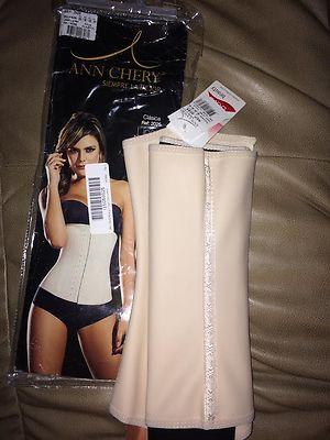 Women Shapewear: Ann Chery Faja Clasica 2025 Latex Waist Trainer, Nude, Size 38 New BUY IT NOW ONLY: $34.99