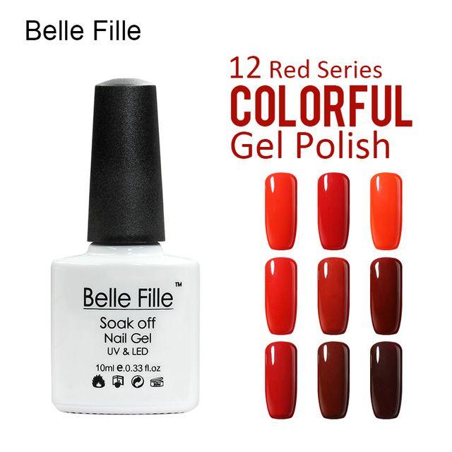 💬 #Belle #Fille #Лак Для #Ногтей #Гелем #УФ #Лак #Для #Ногтей #Профессиональный #База #Top #Вампир #Красный #Красное #вино 💰Цена: ₽117,53 руб. / шт  📦Заказать: http://ali.pub/8kwa3