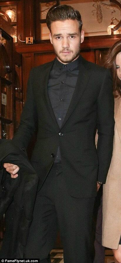 when did Liam decide to become David Beckham? It's working though