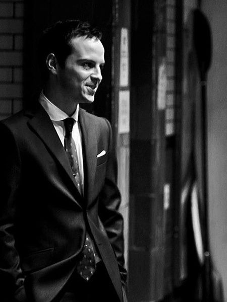 Oh Andrew Scott, you are gorgeous