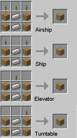 how to make items in minecraft | Zeppelin 1.2.5 Mod Minecraft 1.2.5 | Download Minecraft