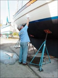 A practical look at waxing and polishing your boat's hull via Inside Practical Sailor