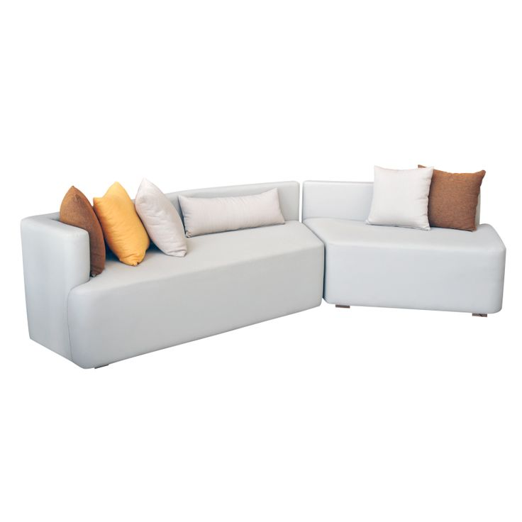 Fragment Sofa Artificial Leather Artificial leather Beige W.290 x D.70 MH-P-G-S-01 Designed by Rania El Kalla