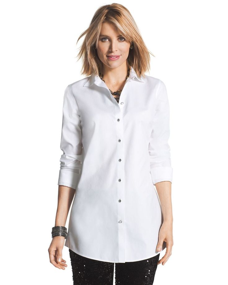 28 best WOMEN LADIES CLASSIC WHITE SHIRT images on Pinterest ...