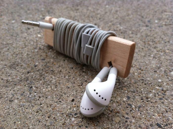 WAYA™ : Hardwood Headphone Wrap My new favorite accessory is now on Kickstarter!