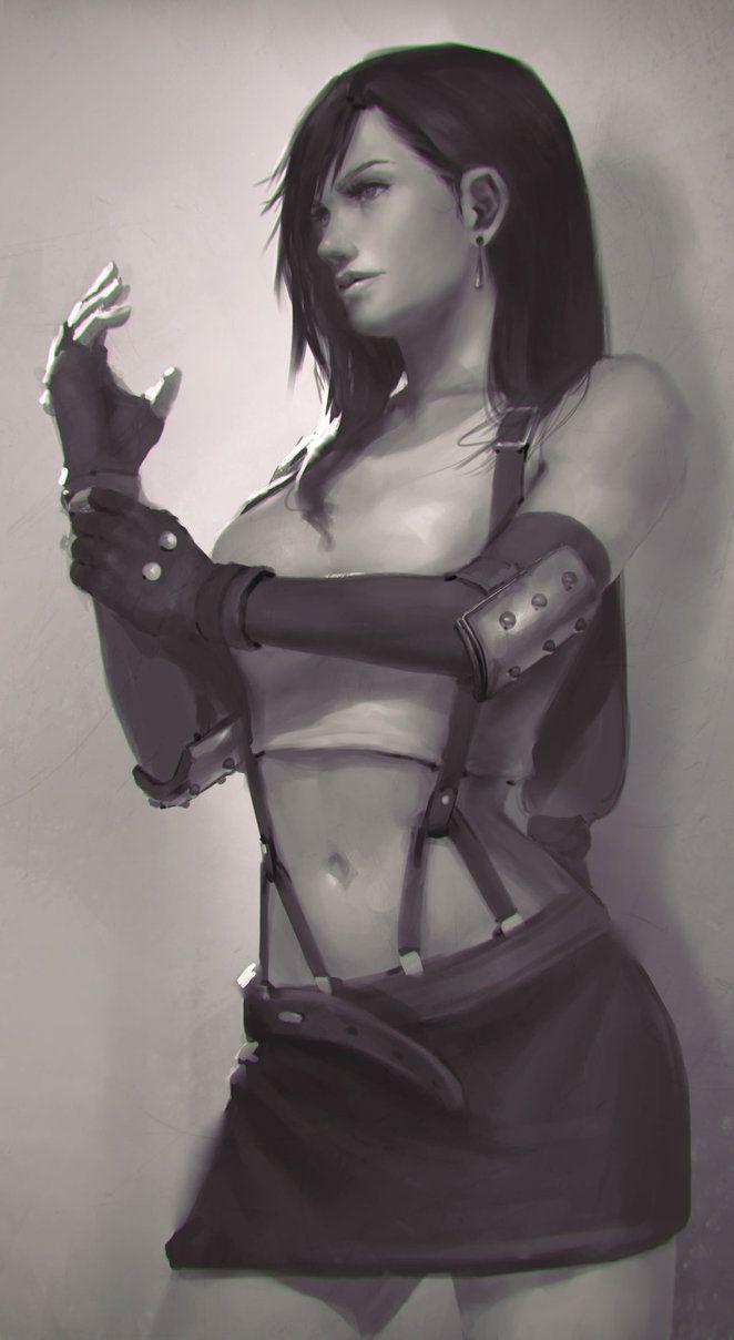 Tifa Lockhart by DigitalSashimi