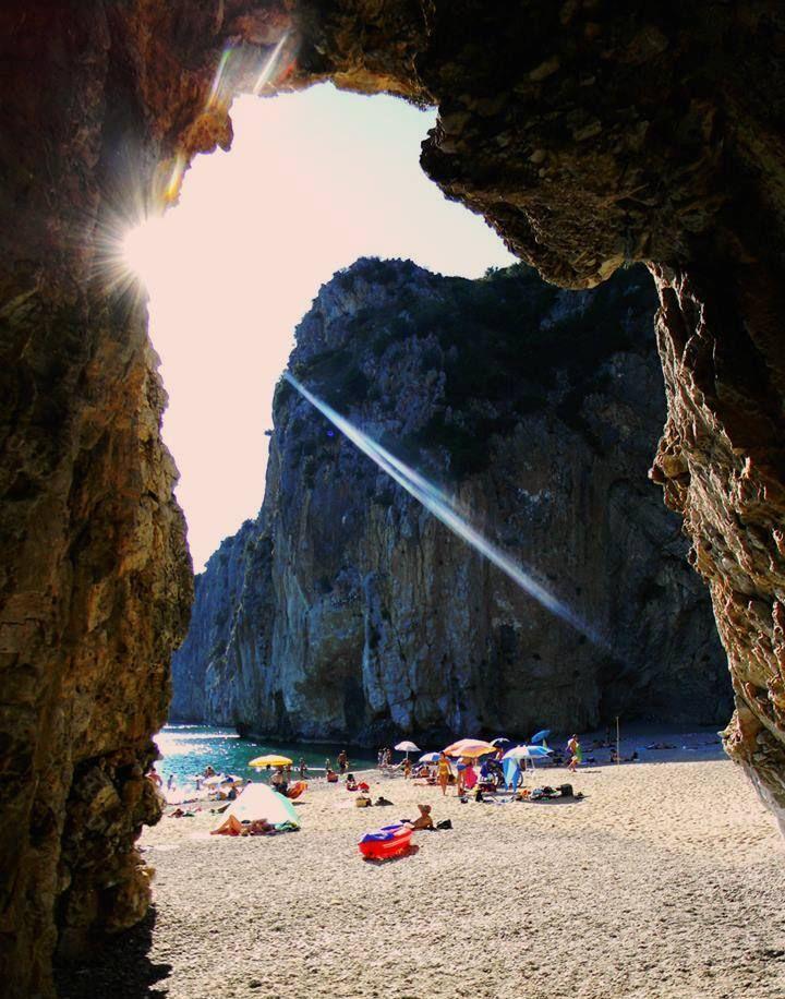 Palinuro beach, Italy.
