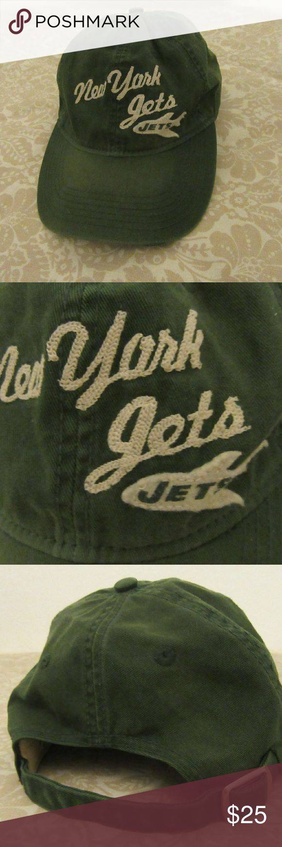 vintage new york jets embroidered hat great shape  vintage new york jets embroidered hat nfl reebok classic vintage Accessories Hats
