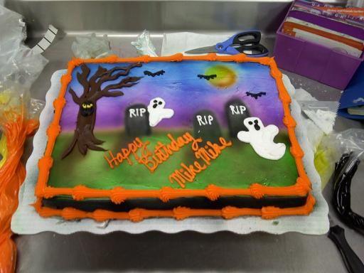 28 best Sky\u0027s Halloween Party images on Pinterest Halloween - halloween birthday cake ideas