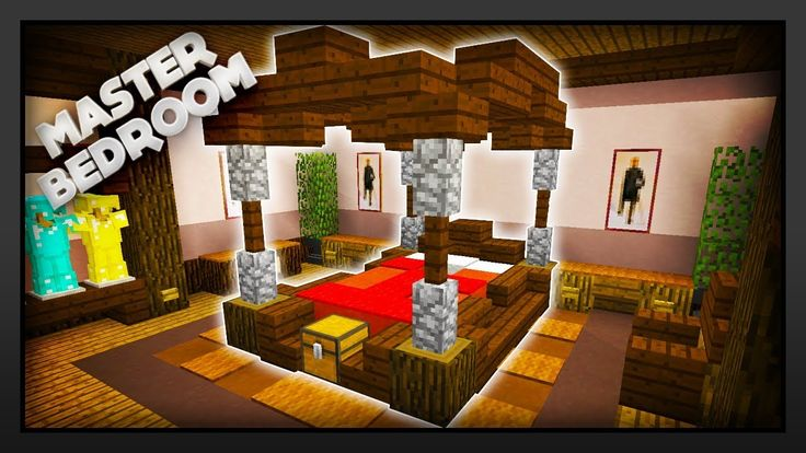 Minecraft - How To Make A Master Bedroom - YouTube ...