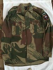 Rhodesian Army Camo Shirt 1970s Vintage Uniform Shirt SAS SELOUS SCOUTS RLI