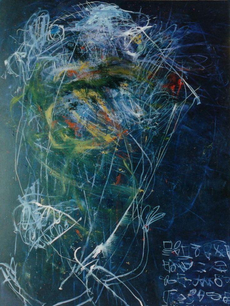 中津川浩章 絵画 1980年代painting art