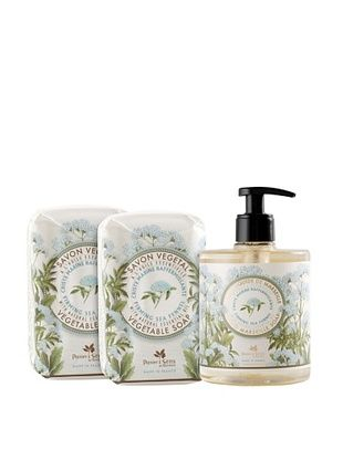 50% OFF Panier des Sens Firming Sea Fennel Liquid Soap and Vegetable Soaps, Set of 3