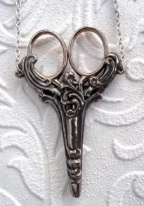 Scroll Chatelaine 2 3/4 inch