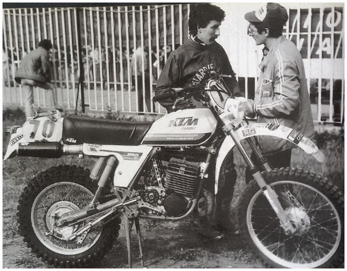 KTM 250 FACTORY 1979 - Elia Andrioletti Valli Bergamasche