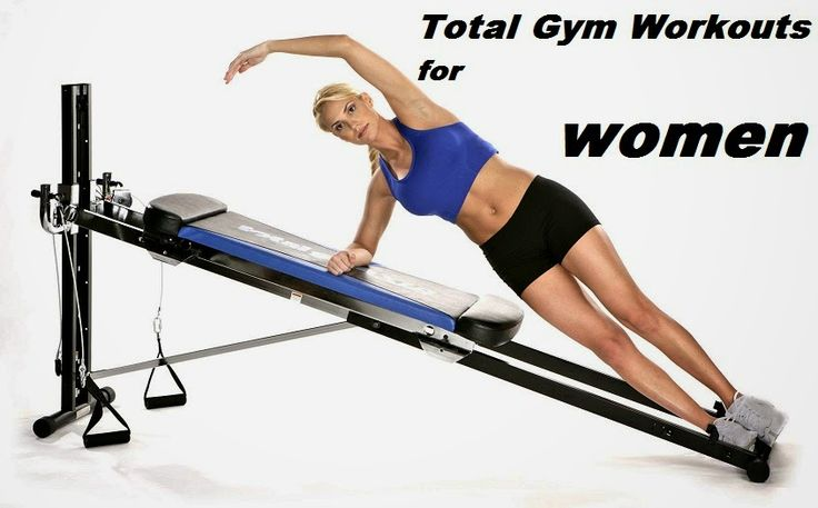 Total Gym Workouts - Gym Workouts For Women                                                                                                                                                                                 More