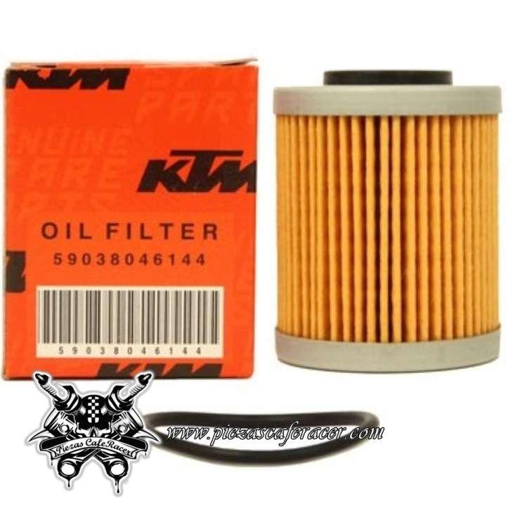 9,28€ - ENVÍO GRATIS - Filtro de Aceite para Ktm Exc-F 400/520/525 Sx-F 400/520/525 Corto