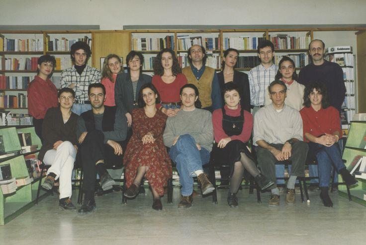 3/1995: Η ομάδα του IANOY της Αριστοτέλους