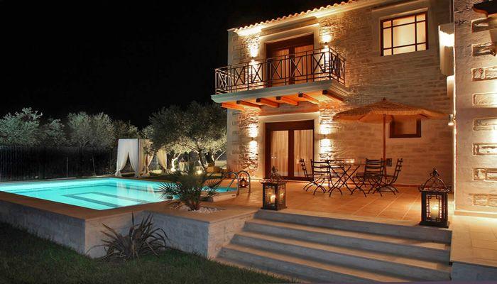 Villa Alea, Nea Magnisia, Rethymno: A traditionally built holiday villa. View more & make a reservation: http://www.mysunnyescapes.com/svilla.php?id=2