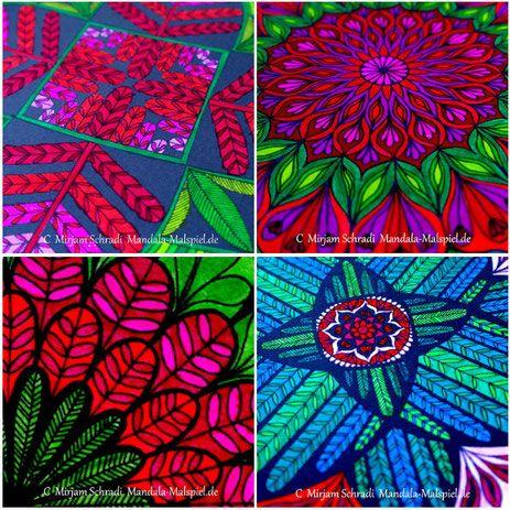 60 schöne von Hand gemalte Mandalas zum Ausdrucken kostenlos für Kinder und Erwachsene aud Mandala-Malspiel.de