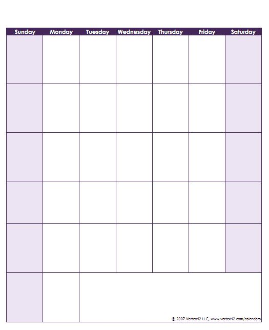 calendar template by vertex42 com - 17 best ideas about printable blank calendar on pinterest