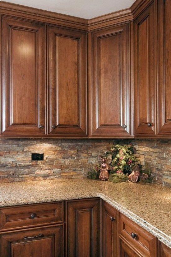 95 kitchen tile backsplash ideas (91) Best Rustic Kitchens in 2018