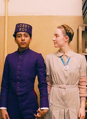 Zero and Agatha from Grand Budapest Hotel. Costume Designer: Milena Canonero
