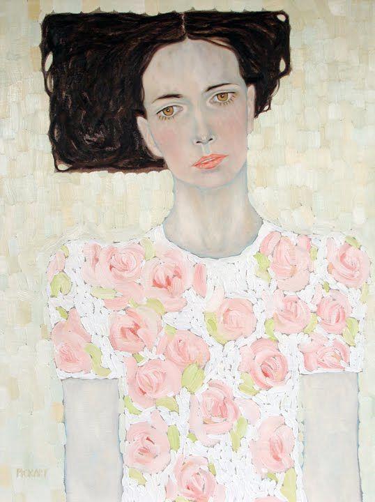 Ryan Pickart [fine artist] and to me a modern Klimt