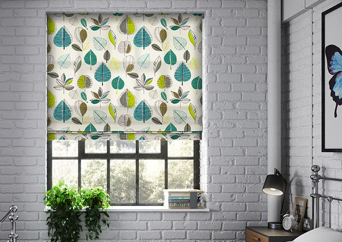 Image result for maple fabric teal roman blind