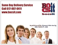 *Same day Delivery & Courier Service  *Express Trucking  *Package and Parcel delivery  *Medical delivery  *Legal Courier  *Gifts delivery  *Store pickups and drop off  We are open 24 hours a day , everyday, including weekends and holidays, our main focus is to keep your shipments safe and on time, no matter the conditions. Visit Bocsit at http://www.bocsit.com.