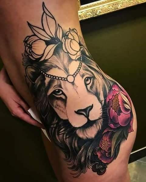 Tattoo leão ♌