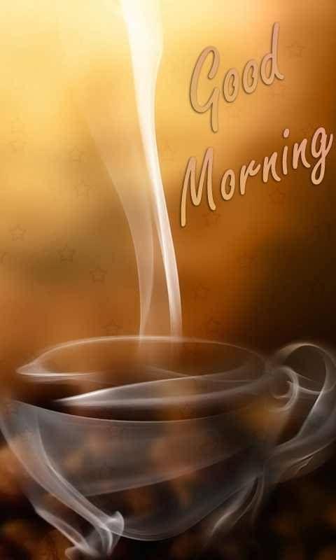Aww coffee! Good morning☀️