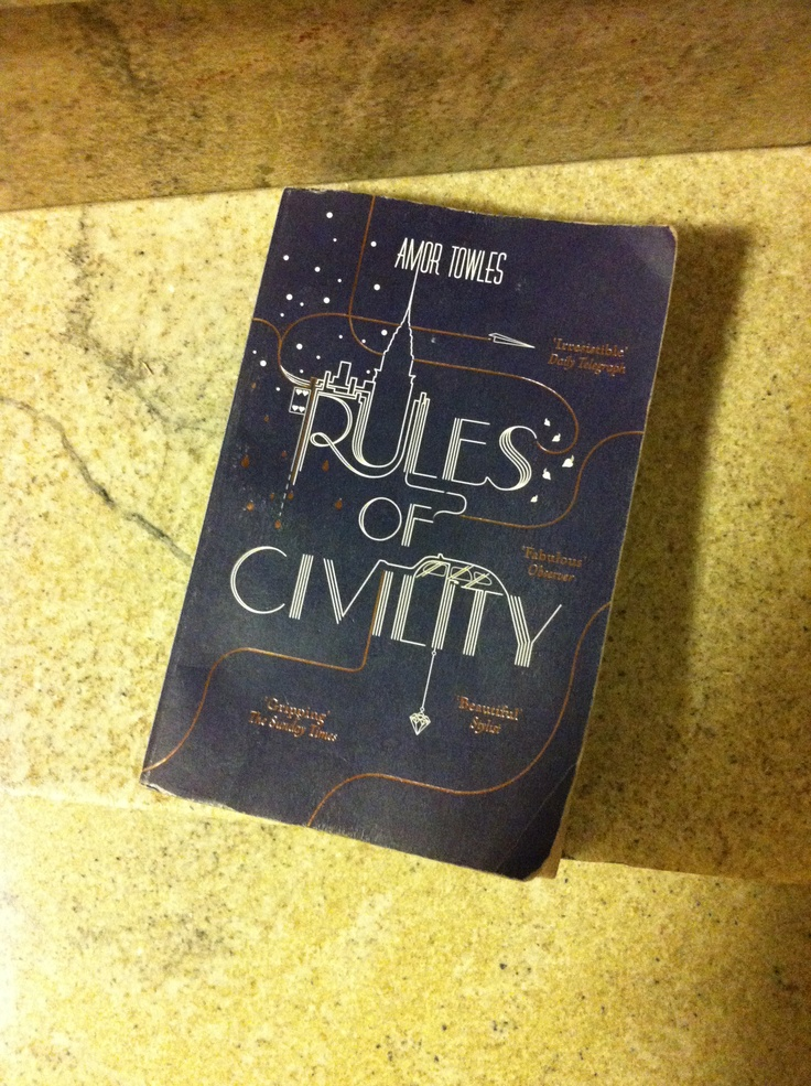 New York in the thirties! Rules of Civility by Amor Towles.